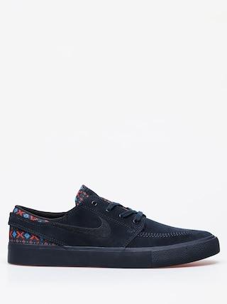 Topu00e1nky Nike SB Zoom Janoski Rm Premium (dark obsidian/black bright crimson)
