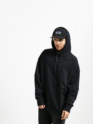 Mikina s kapucňou Supra 92 Fleece HD (black)