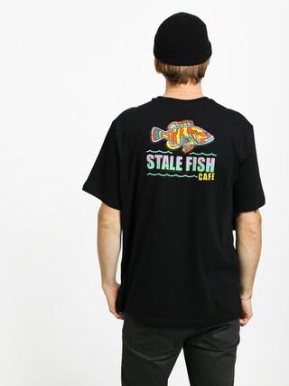 Tričko Element Stale Fish (flint black)