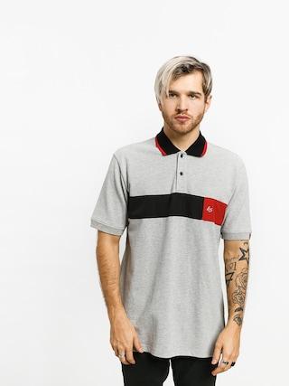 Polo tričko Es Mitga (grey/heather)