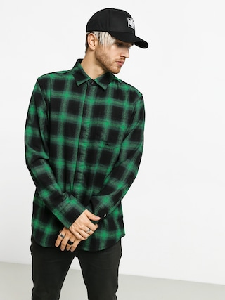 Košeľa Emerica Torrence (green/black)
