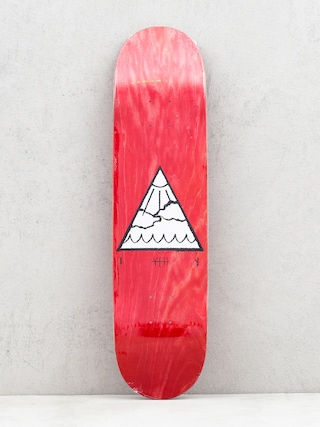 Doska Youth Skateboards Triangle Logo (red)