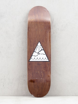 Doska Youth Skateboards Triangle Logo (brown)