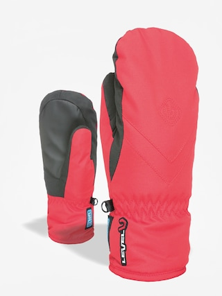 Rukavice Level Kid Mitt Gore Tex (red)