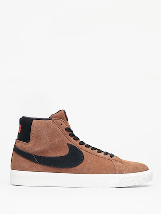Topu00e1nky Nike SB Zoom Blazer Mid (lt british tan/black)