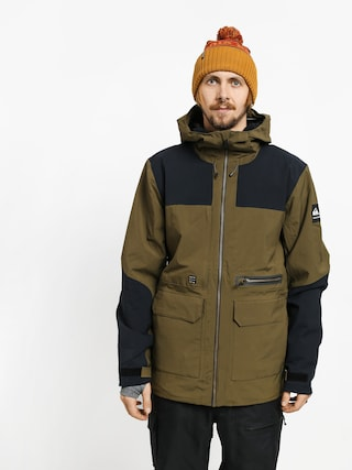 Snowboardovu00e1 bunda Quiksilver Arrow Wood (grape leaf)