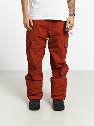 Snowboardovu00e9 nohavice Quiksilver Porter (barn red)