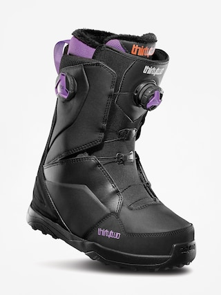 Obuv na snowboard ThirtyTwo Lashed Double Boa Wmn (black/purple)