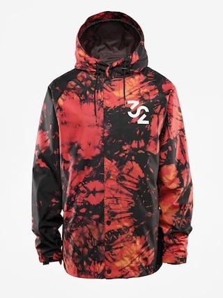 Snowboardovu00e1 bunda ThirtyTwo Grasser (red/black)