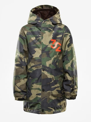 Snowboardovu00e1 bunda ThirtyTwo League Youth (camo)
