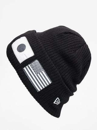 Čiapka New Era Flag Watch Knit (black/optic white)