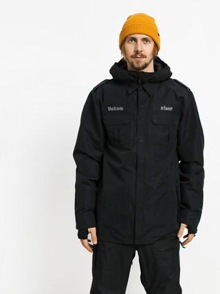 Snowboardovu00e1 bunda Volcom Creedle 2 Stone (blk)