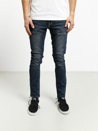 Nohavice Volcom 2X4 Denim (medium blue wash)