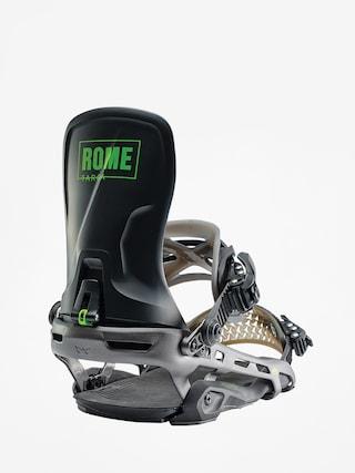 Snowboardovu00e9 viazanie Rome Targa (black)