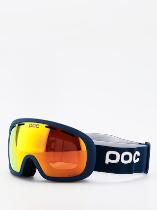 Snowboardovu00e9 okuliare POC Fovea Mid Clarity (lead blue/spektris orange)