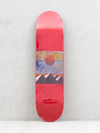 Doska Youth Skateboards Pyramids (red)