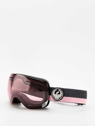 Okuliare na snowboard Dragon X1s (flux pink/transitions light rose)