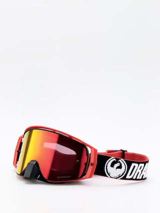 Snowboardové okuliare Dragon NFX2 (factory/lumalens red ion/10pkto/lenshi)