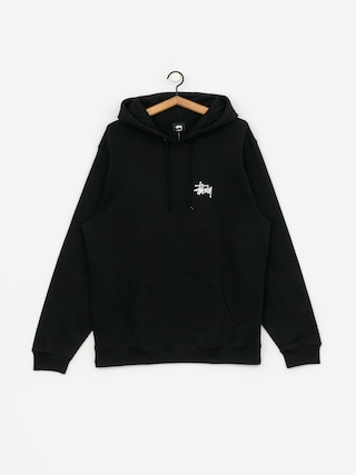 Mikina s kapucu0148ou Stussy Basic HD (black)