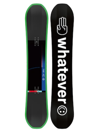 Snowboard Bataleon Whatever (black/white/green)