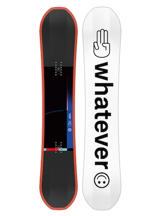 Snowboard Bataleon Whatever (white/black/orange)