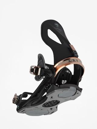 Snowboardovu00e9 viazanie Arbor Cypress (black)