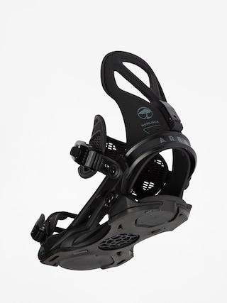 Snowboardovu00e9 viazanie Arbor Hemlock (black)