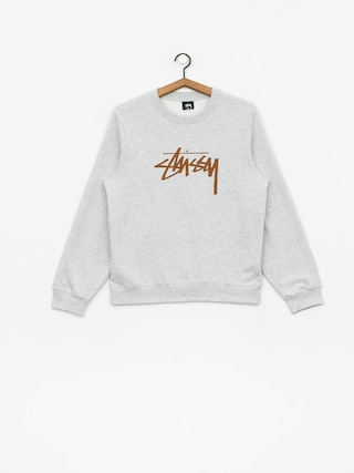 Mikina Stussy Stock Wmn (ash heather)