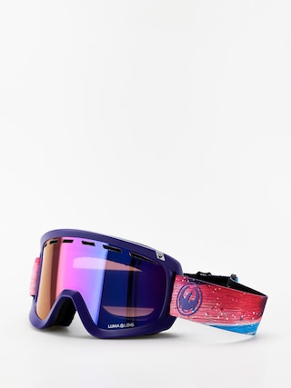 Snowboardove okuliare Dragon D1 OTG (abstract/lumalens purple ion/lumalens amber)