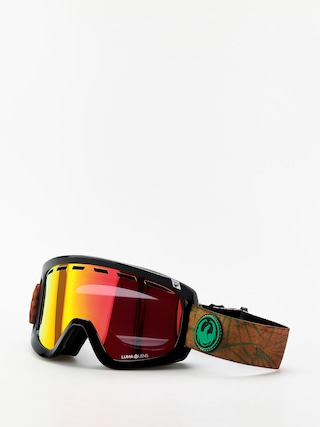 Snowboardove okuliare Dragon D1 OTG (irie/lumalens red ion/lumalens amber)