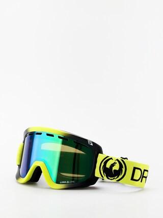 Snowboardove okuliare Dragon D1 OTG (lime/lumalens green ion/lumalens amber)