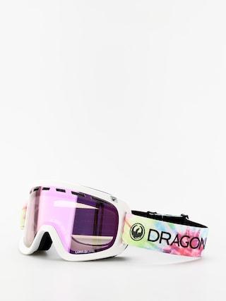 Snowboardove okuliare Dragon D1 OTG (tie dye/lumalens pink ion/lumalens dark smoke)