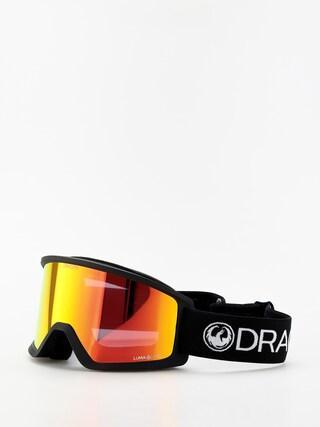 Snowboardove okuliare Dragon DX3 (black/lumalens red ion)
