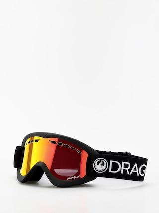 Snowboardove okuliare Dragon DXS (black/lumalens red ion)