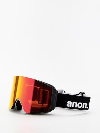 Okuliare na snowboard Anon Sync (black/sonar red)