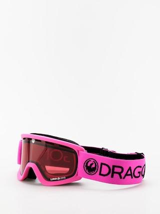 Snowboardove okuliare Dragon Lil D (soft pink/lumalens rose)