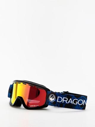 Snowboardove okuliare Dragon Lil D (dart blue/lumalens red ion)