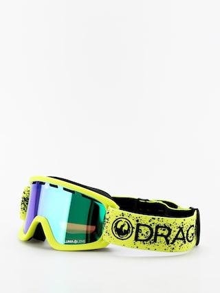 Snowboardove okuliare Dragon Lil D (slime/lumalens green ion)
