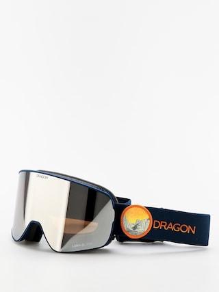 Okuliare na snowboard Dragon NFX2 (chris benchetler sig19/lumalens silver ion/lumalens rose)