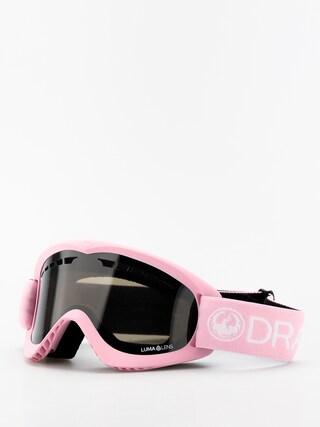 Okuliare na snowboard Dragon DX (pink/lumalens dark smoke)