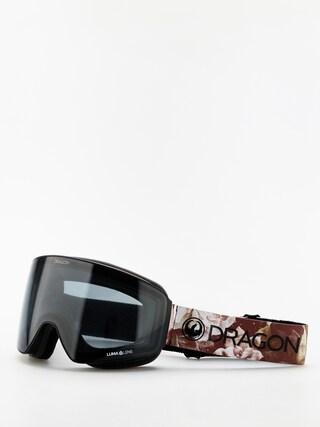 Okuliare na snowboard Dragon PXV (succulents/lumalens dark smoke/lumalens rose)