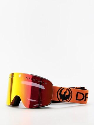 Okuliare na snowboard Dragon NFXS (tangerine/lumalens red ion/lumalens amber)