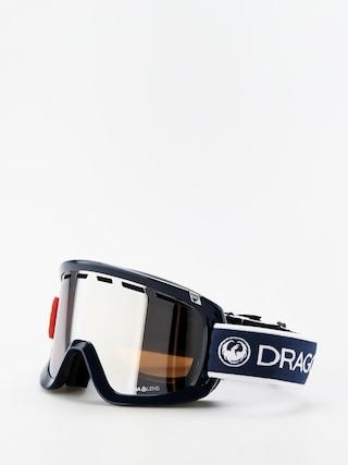 Okuliare na snowboard Dragon D1OTG (designer/lumalens silver ion/lumalens flash blue)