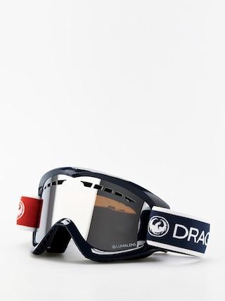 Okuliare na snowboard Dragon DX (designer/lumalens silver ion)