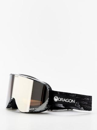 Snowboardovu00e9 okuliare Dragon NFX2 (torn birch/lumalens silver ion/lumalens flash blue)