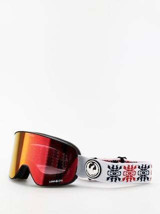 Snowboardovu00e9 okuliare Dragon NFX2 (forest bailey sig19/lumalens red ion/lumalens rose)