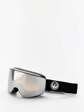 Snowboardovu00e9 okuliare Dragon PXV (split/lumalens silver ion/lumalens flash blue)