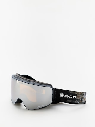 Snowboardovu00e9 okuliare Dragon PXV (galaxy rock/lumalens silver ion/lumalens flash blue)