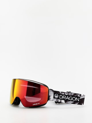 Snowboardovu00e9 okuliare Dragon PXV (faction/lumalens red ion/lumalens rose)