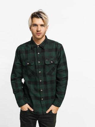 Kou0161eu013ea Brixton Bowery Flannel Ls (black/green)